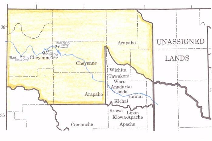 Pics Photos  Cheyenne Indian Map